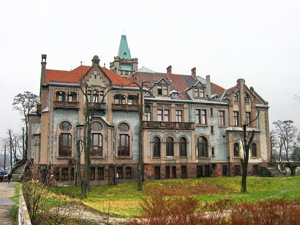 Przeprowadzki Sosnowiec Pałac Schona