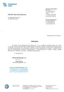 DAR-BET referencje przeprowadzki Fresenius Kabi